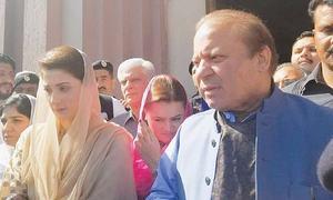 نواز شریف،مریم نواز کو لاہور ایئرپورٹ پر ہی گرفتار کرلیا جائے گا،ذرائع