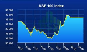 PSX lands in green after volatile session