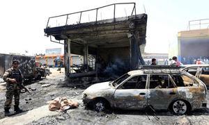 افغانستان: چیک پوسٹ کے قریب خود کش حملہ،12 افراد ہلاک