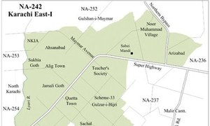 NA-242 — Karachi's smallest constituency with fewer than 200,000 votes