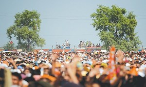 Campaign in Bahawalpur lacks traditional fervour
