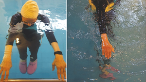 Karachi's tackling joint pain and weight loss with water aerobics