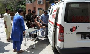 افغانستان:محکمہ تعلیم کی عمارت میں مسلح ملزمان کا دھاوا،10 افراد ہلاک