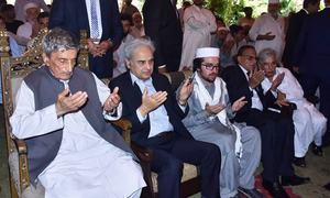 PM Mulk, army chief condole with Bilour family over ANP leader's death