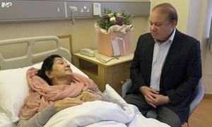 Ahead of Nawaz, Maryam's return, family reports improvement in Kulsoom Nawaz's health
