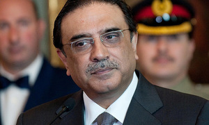 SC puts on hold FIA probe against Zardari, Faryal till polls