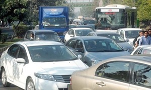 Alternate traffic plan on the eve of arrival of Nawaz Sharif