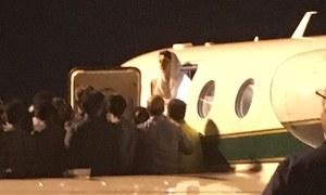 نواز شریف، مریم نواز گرفتاری کے بعد اڈیالہ جیل منتقل