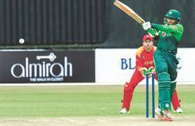 Imam, Shadab propel Pakistan to big victory over Zimbabwe