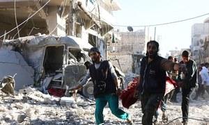 شام: امریکی اتحادی افواج کا فضائی حملہ، شہریوں سمیت 54 'داعش جنگجو' ہلاک