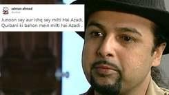 Salman Ahmed defends his tweet on Mastung massacre after facing backlash