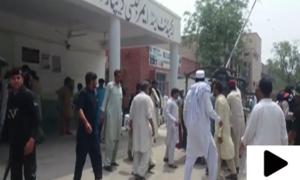 پاکستان میں انتخابی مہم کے دوران ہونے والی دہشت گردی