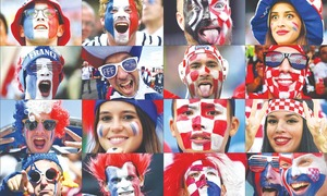 Croatia fans hope to settle old score against French