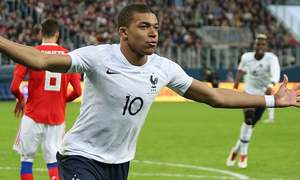 From young Mbappe to aging keeper, the 2018 World Cup in records