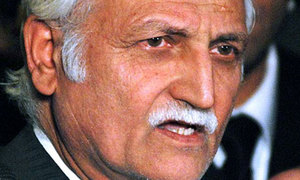 Manipulation as clear as day, says Farhatullah Babar