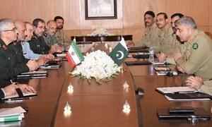 پاکستان اور ایران کے درمیان فوجی تعاون بڑھانے پر اتفاق