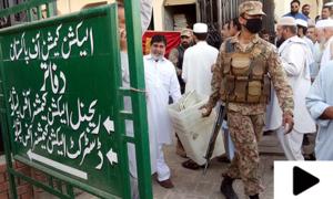 الیکشن 2018: کے پی کے میں نیا سیکیورٹی پلان تشکیل
