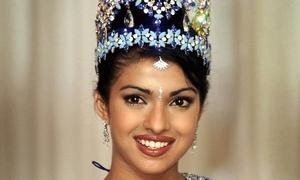 Priyanka Chopra was considered 'too dark' to be crowned Miss India