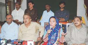 Naheed complains of harassment, ugly tactics by police