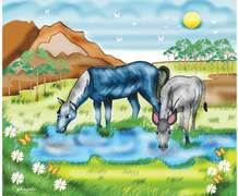 Story Time: The donkey and the horse