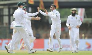 Maharaj takes eight to help SA bounce back in final Test