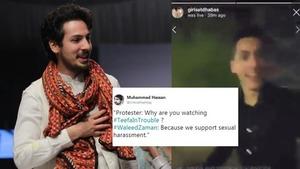 Kayseria's creative director, Waleed Zaman said he supports sexual harassment of women
