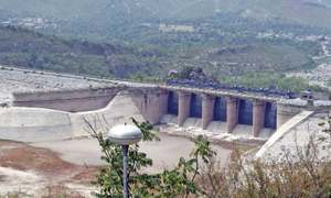 As water recedes, Khanpur Dam loses its visitors