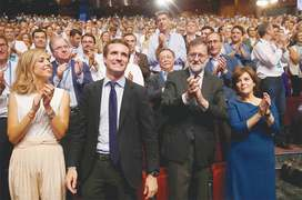 Spain's conservatives swing to the right after leadership battle