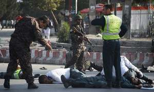 Suicide attack at Kabul airport leaves 14 dead, 60 wounded