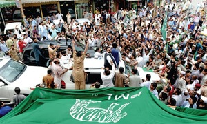 Over 50 booked for rioting after Hanif Abbasi's conviction