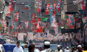 Peshawar misses traditional high-pitched poll drive