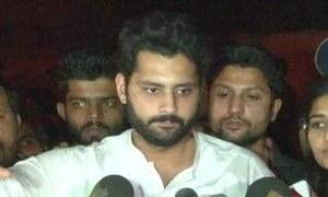جبران ناصر کا بھی انتخابی نتائج میں تاخیر پر احتجاج