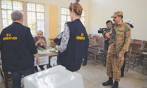 EU mission terms election satisfactory, calls it better than 2013