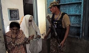Women herded to polling station to meet condition of election law