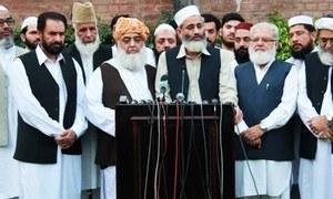 Religious parties say mandate 'stolen'
