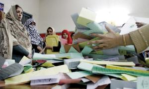 PK-80, NA-32 poll results withheld over 'hooliganism'