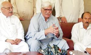 ANP to protest election 'rigging' across KP on Monday