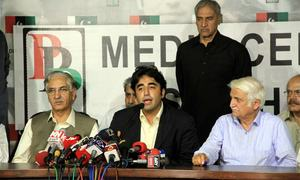 PPP unhappy with outcome, but decides against boycotting parliament