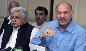 مشاہد حسین سید کی سیکریٹری الیکشن کمیشن سے ملاقات، تحفظات سے آگاہ کیا