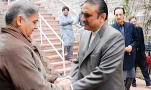 تحریک انصاف کے مقابلے میں مسلم لیگ (ن) اور پیپلز پارٹی کا اتحاد