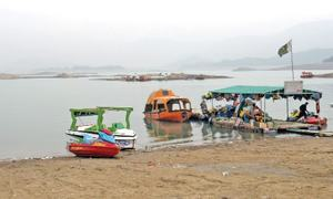 Water level in Khanpur Dam rises by 17 feet