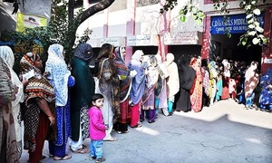 Women's vote increases Upper Dir turnout