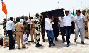 Pakistani officials hand over body of Indian citizen to BSF at Khokhrapar-Munabao border crossing