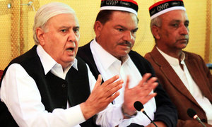 Sherpao alleges people's mandate stolen