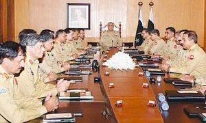 Bajwa praises military's ECP-mandated role in polls
