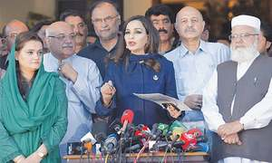 Opposition parties agree to field joint candidates in NA