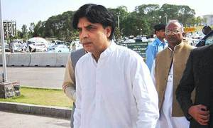 Chaudhry Nisar to contest by-elections for Pindi NA seat