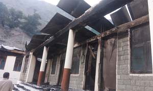 12 schools burnt down overnight in Gilgit-Baltistan's Diamer district