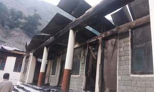 Four more picked up for torching schools in Diamer
