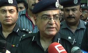 Additional Inspector General Karachi Mushtaq Mahar transferred